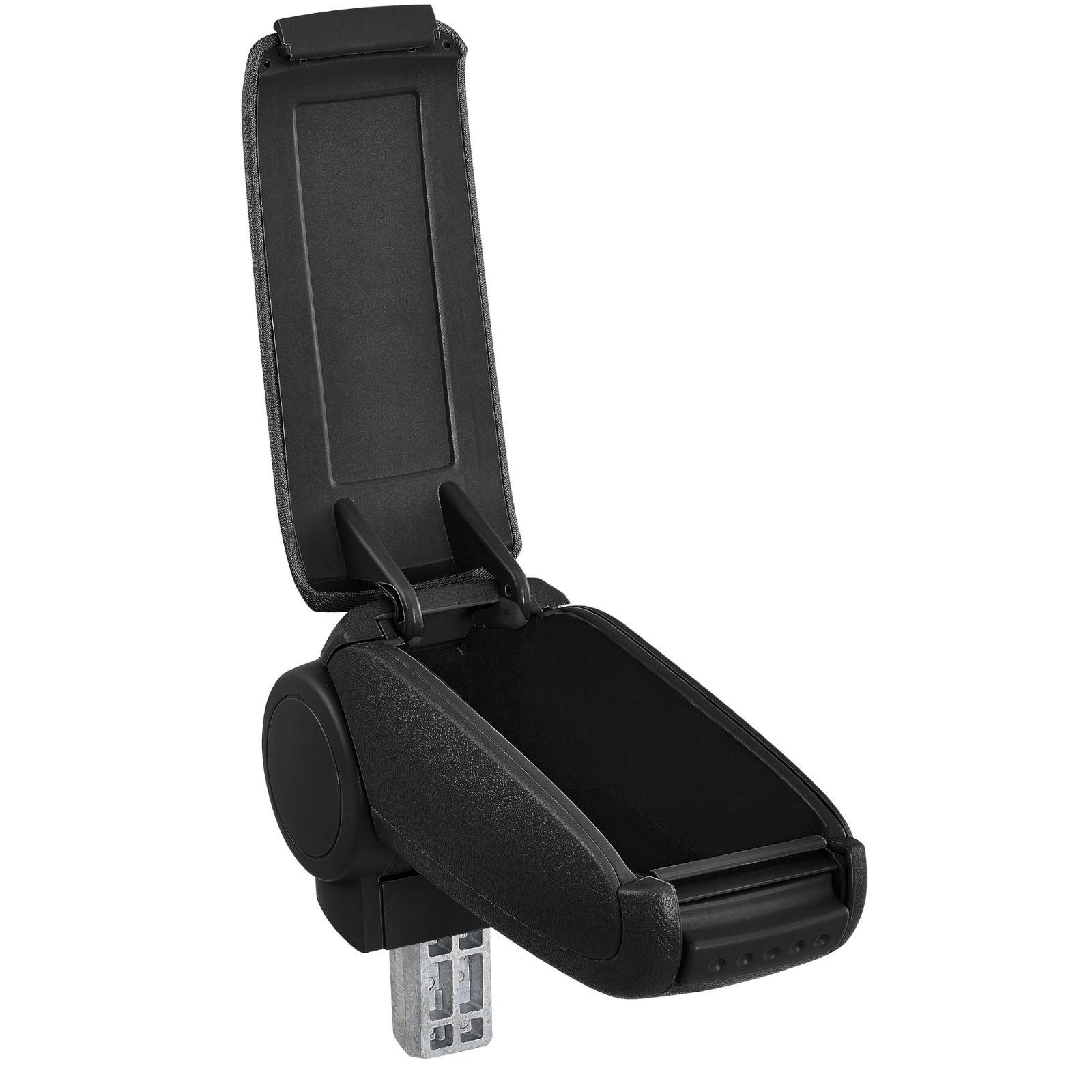 accoudoir neuf peugeot 207 207 cc 207 sw cuir noir ebay. Black Bedroom Furniture Sets. Home Design Ideas