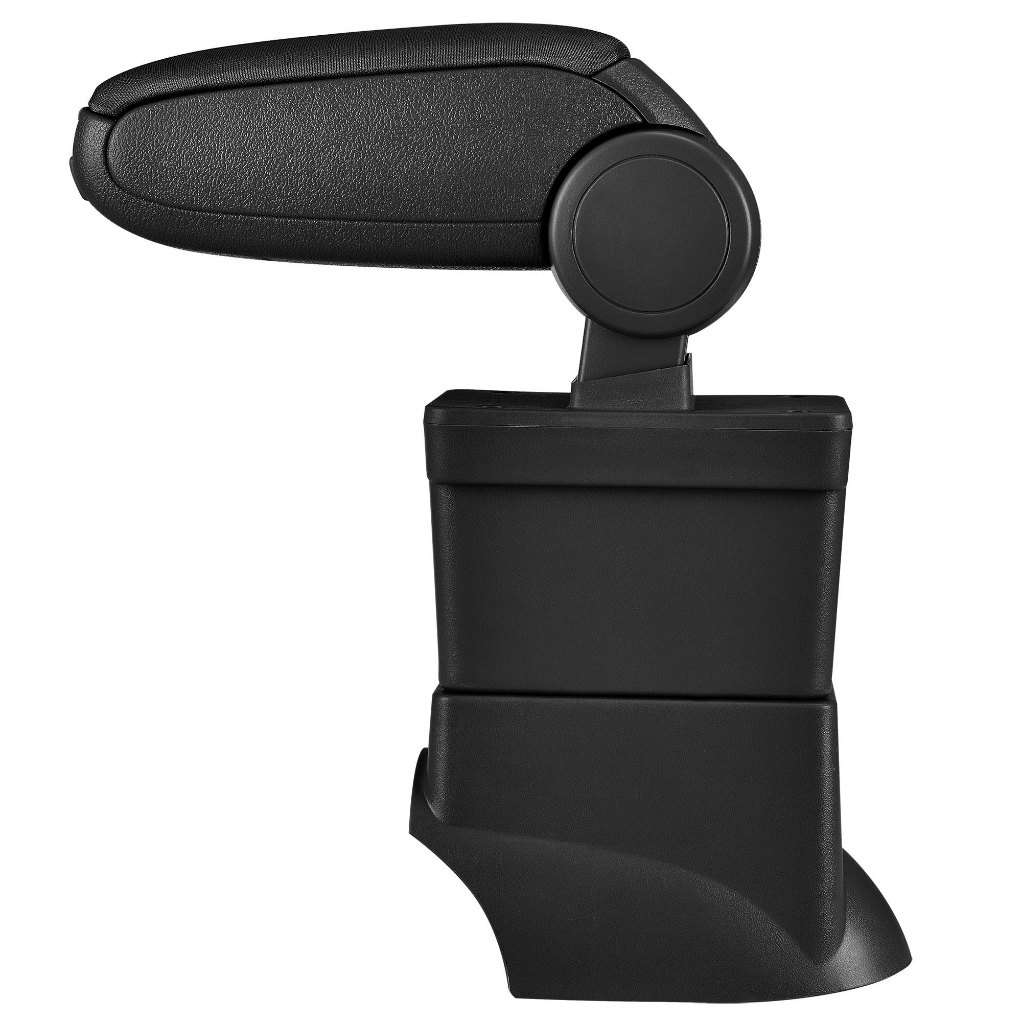 accoudoir neuf fiat 500 500c 2007 2015 tissu noir. Black Bedroom Furniture Sets. Home Design Ideas