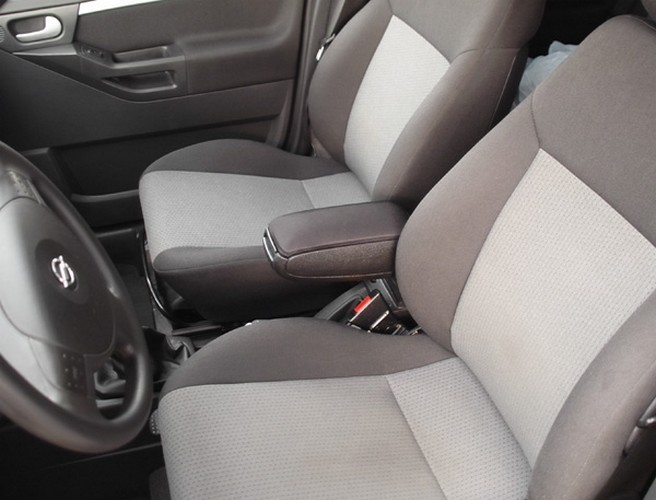 vauxhall opel meriva a mk1 2003 2010 centre armrest black fabric cloth new ebay. Black Bedroom Furniture Sets. Home Design Ideas