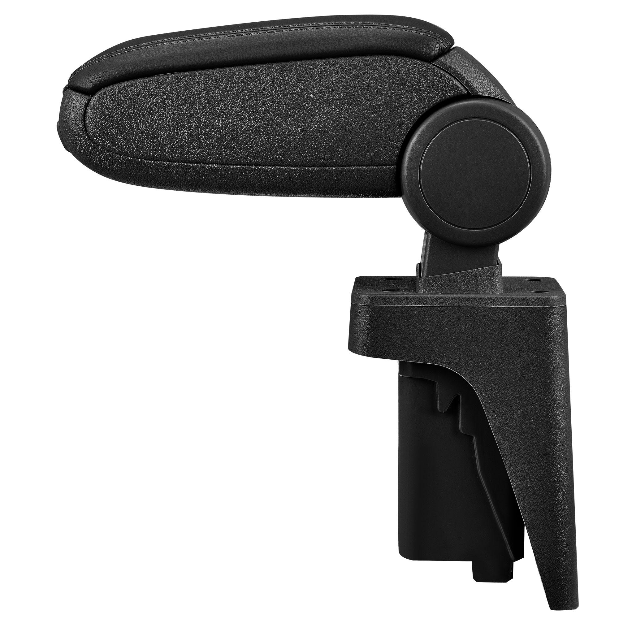 accoudoir central audi a3 s3 8p sportback cabriolet 2003 2012 cuir noir neuf ebay. Black Bedroom Furniture Sets. Home Design Ideas