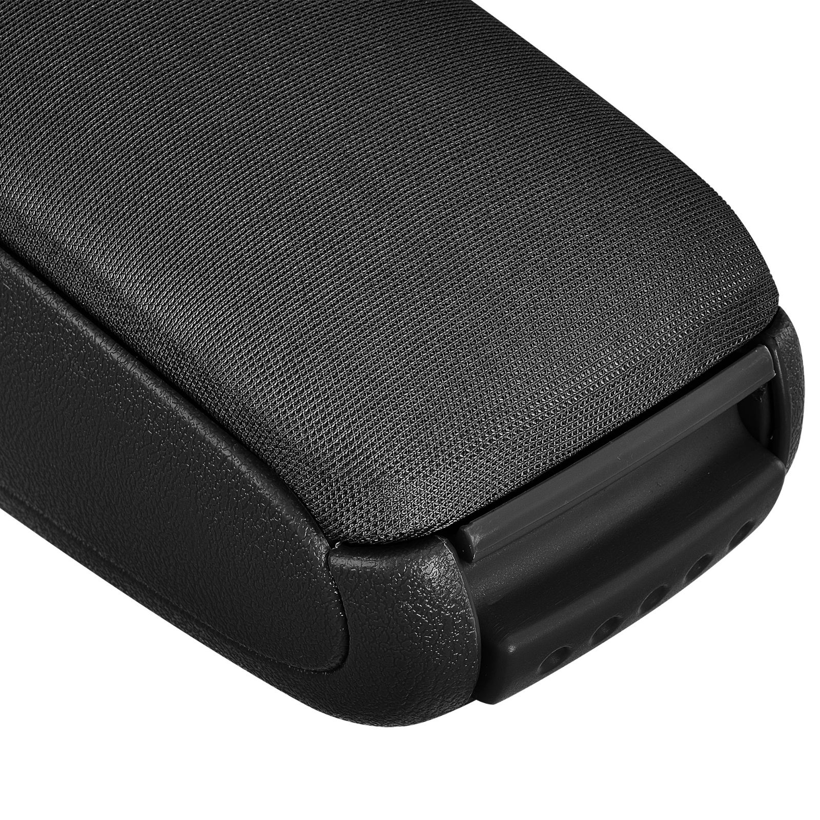 pro.tec Kia Picanto II ab 2011 Mittelarmlehne Textil schwarz Passform Armlehne
